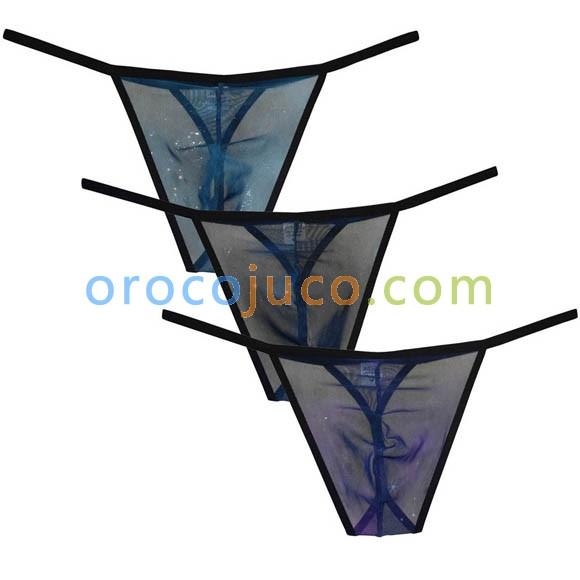 9956e68059ef Sexy Mesh Men's Semi See-through G-string Bikini Shorts Male Underpants  Skinny Sides Underwear Bikini Thong Lingerie