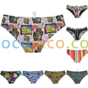 NEW Men's Swimwear Swim Bulge Bikini Briefs Full Lining Swimsuits Board Surf Shorts Trunks