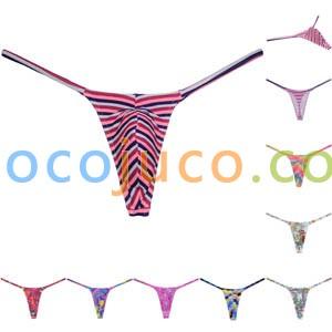 Men's Swim Thong G-Strings Nylon quick dry Underwear Bulge Pouch Sport String Bikini T-Back