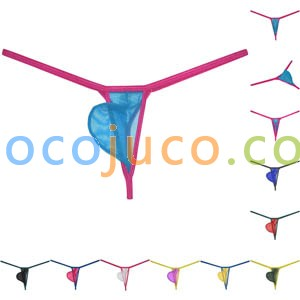 Men's G-String Silky Thin Underwear Frivolous breathable Bulge Pouch Bikini Air Light Sport Mesh Thong