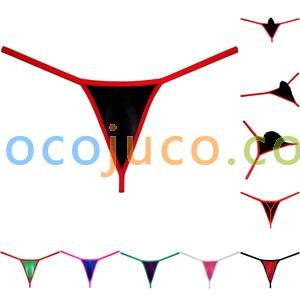 Men's String Hipster Panties Underwear Bikini Thong Spandex Contour Pouch T-back