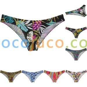 Men's Bikini Beautiful Underwear Pucker Posing Sposrts Half Cover Cheeky Briefs