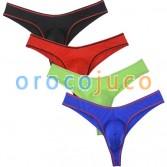 Men's Buns Bikini Briefs Underwear Soft Swim Thong Bulge Pouch Shorts Trunks