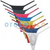 Men Modal String Thong Underwear Male Minimal Coverage Hipster T-back Jock Strap